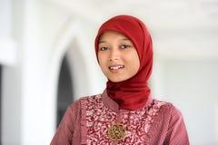 ramadan kvinna för muslim Arkivfoton