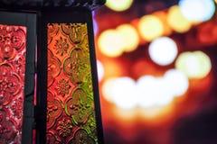 Ramadan lampion Fotografia Stock