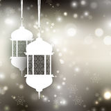 Ramadan lantern background Stock Photo