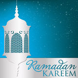 Ramadan. Lantern card in vector format vector illustration
