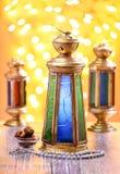 Ramadan Lantern Celebration Concept Stock Foto