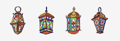 Ramadan Lantern Fanous Stock Photo