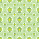 Ramadan lantern protect white symmetry seamless pattern vector illustration