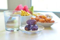 Ramadan-Lebensmittel Lizenzfreie Stockfotos
