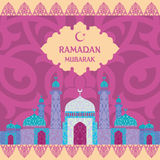 Ramadan Mubarak Fotografia de Stock Royalty Free