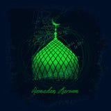 Ramadan Mubarak Arkivfoton
