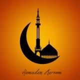 Ramadan Mubarak Royaltyfri Fotografi