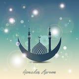 Ramadan Mubarak Eid Mubarak Arkivbilder