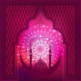 Ramadan Mubarak Eid Mubarak Royaltyfri Fotografi