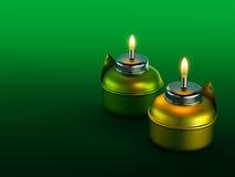 Ramadan Oil Lamp Foto de Stock