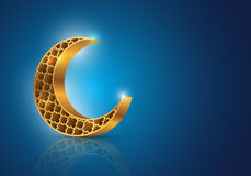 Ramadan Półksiężyc Fotografia Royalty Free
