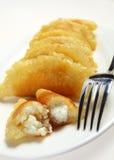 Ramadan pancakes vertical royalty free stock photos