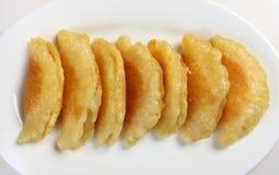 Ramadan Pfannkuchen von oben Lizenzfreies Stockbild