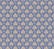 Ramadan Seamless pattern. Simple abstract decorated background. Vector illustration for your design. Ramadan Seamless pattern. Simple abstract decorated Stock Illustration