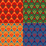 Ramadan seamless set pattern. Islamic decorative background. Vec Stock Photos