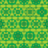 Ramadan star cartoon symmetry stripe seamless pattern Royalty Free Stock Photography