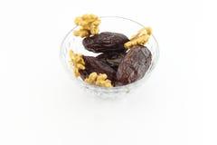 Ramadan sweet and walnut Stock Image