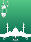 Ramadan tło Zdjęcia Royalty Free