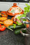 Ramadan tajine ingredients Royalty Free Stock Photos