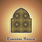 Ramadan themed islamic illustration Stock Image