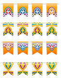 Ramadan Traditional Flags Royalty Free Stock Photo