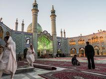 Ramadan w Kashan, Iran obrazy royalty free