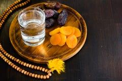 Ramadan water for iftar Royalty Free Stock Photos
