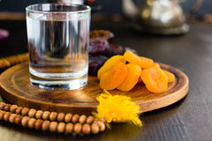 Ramadan water for iftar Royalty Free Stock Image