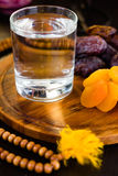 Ramadan water for iftar Royalty Free Stock Photography