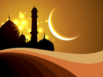 Ramadanfestivalbakgrund stock illustrationer