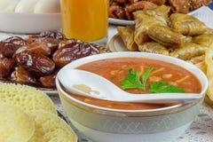 Ramadanmaaltijd stock fotografie