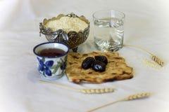 Ramadanonderbreking het vasten Royalty-vrije Stock Foto