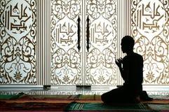 ramadhan的祷告 免版税库存图片