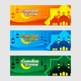 Ramadhan Banner Design. Banner Concept Design Ramadhan Kareem For All Muslim , Hope You Like it vector illustration