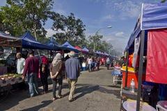 Ramadhan bazar 5 de julho de 2015, Kuala Lumpur, Malásia Imagens de Stock