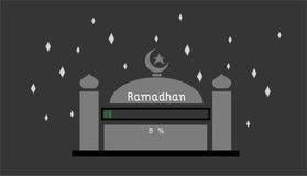 Ramadhan el 8% Imagen de archivo