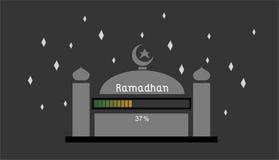 Ramadhan el 37% Foto de archivo libre de regalías