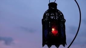 Ramadhan eller Eid Lantern arkivfilmer