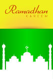 Ramadhan Greeting Card Stock Images