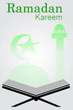 Ramadhan Greeting Card Royalty Free Stock Photography