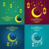Ramadhan Kareem 1. Ramadhan Kareem for your company royalty free illustration