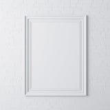 ramaffisch för mellanrum 3d royaltyfri illustrationer