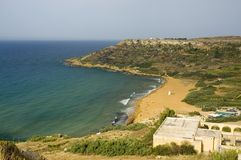 Ramala Bay view. Ramala bay. Gozo Stock Photo
