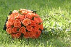 Ramalhete 5 do casamento Imagens de Stock Royalty Free