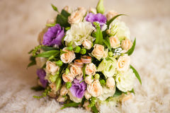 Ramalhete bonito da noiva Fotografia de Stock