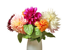 Ramalhete bonito das flores no vaso Imagens de Stock Royalty Free