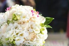 Ramalhete bonito das flores das noivas Imagem de Stock