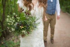 Ramalhete bonito do casamento Imagem de Stock Royalty Free