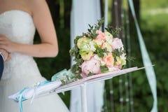 Ramalhete bonito do casamento Imagens de Stock