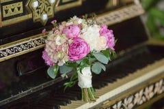 Ramalhete bonito do casamento Imagens de Stock Royalty Free
